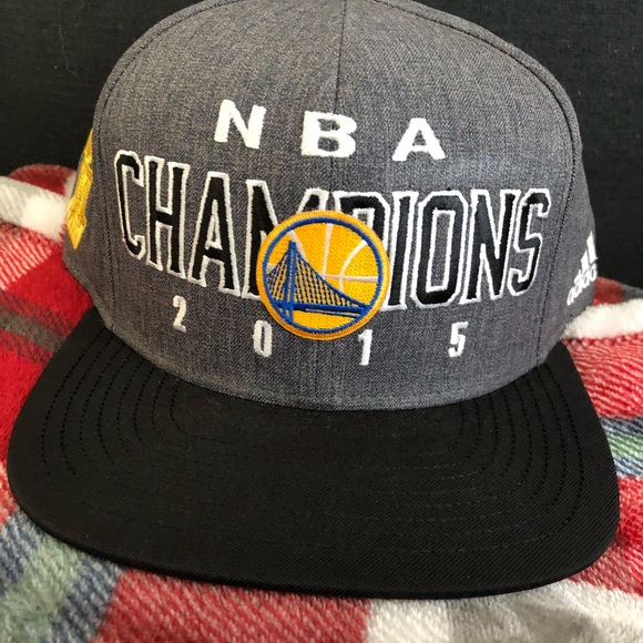 86156f0365f adidas Other - 2015 Golden State Warriors Championship Hat